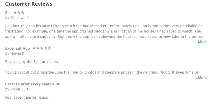 realtor.ca app itunes